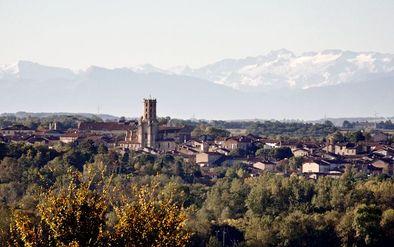Vue panoramique Gimont -