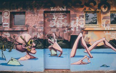 PHOTO STREET ART LOMBEZ -