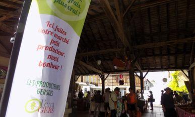 Photo marché halle -