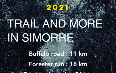 Trail in Simorre -