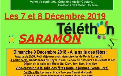 Affiche Téléthon -