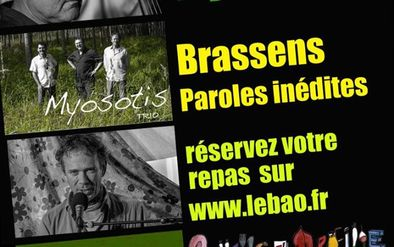 Affiche concert BAO -