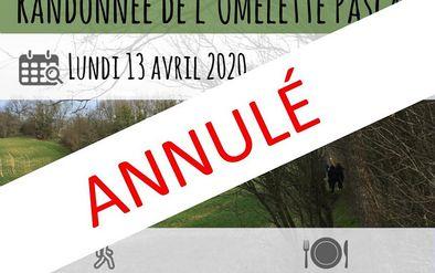 RANDONNÉE DE L'OMELETTE PASCALE  -