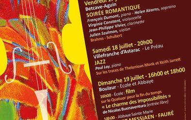 FESTIVAL LES MUSICALES DES COTEAUX DE LA GIMONE -