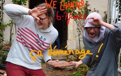 Chantier participatif Abbaye de Boulaur -